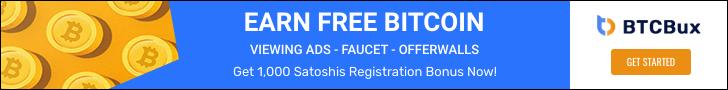 BTCBux - Earn Free Bitcoin
